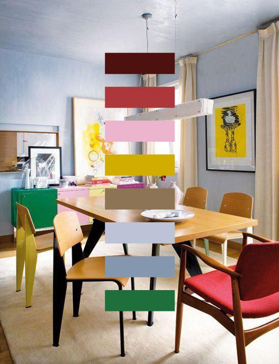 Cómo decorar con color