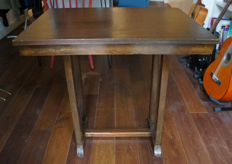 C mo hacer una mesa para la m quina de coser blog - Mesa para maquina de coser ikea ...
