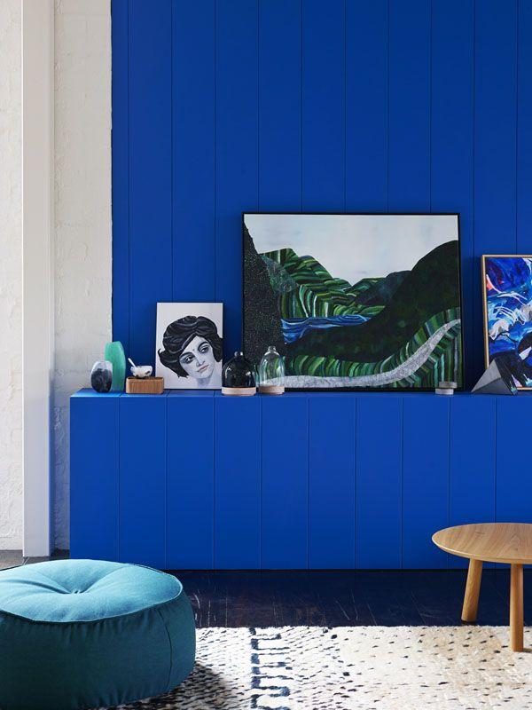 Tendencia decoración: azul Klein
