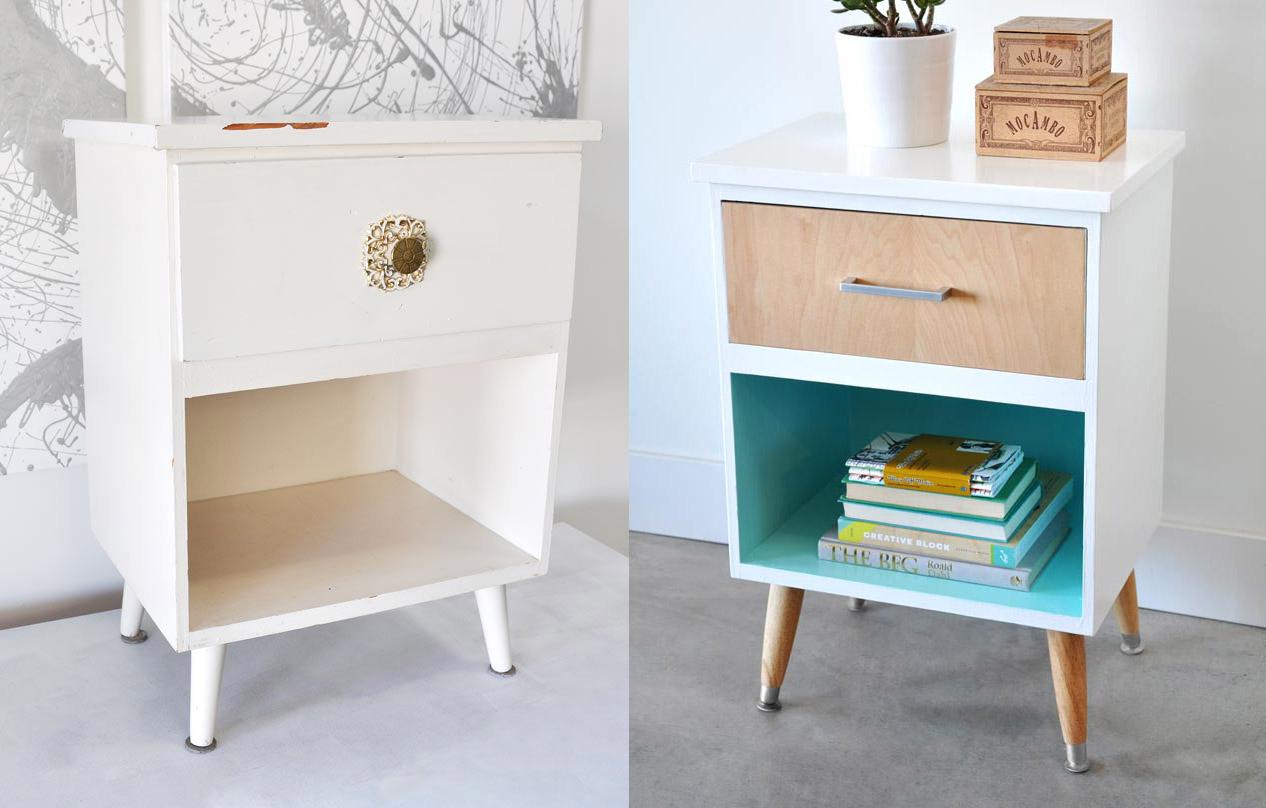 modernizar muebles antiguos simple usa pintura seca