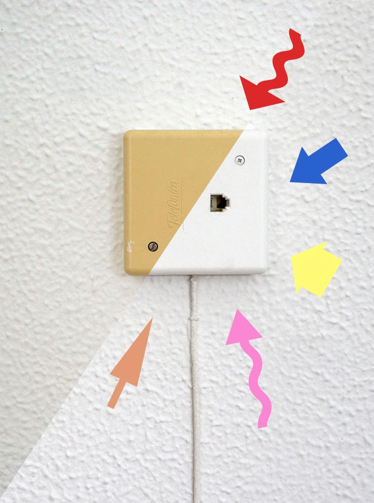 C mo pintar los enchufes e interruptores decoraci n - Decoracion on line ...