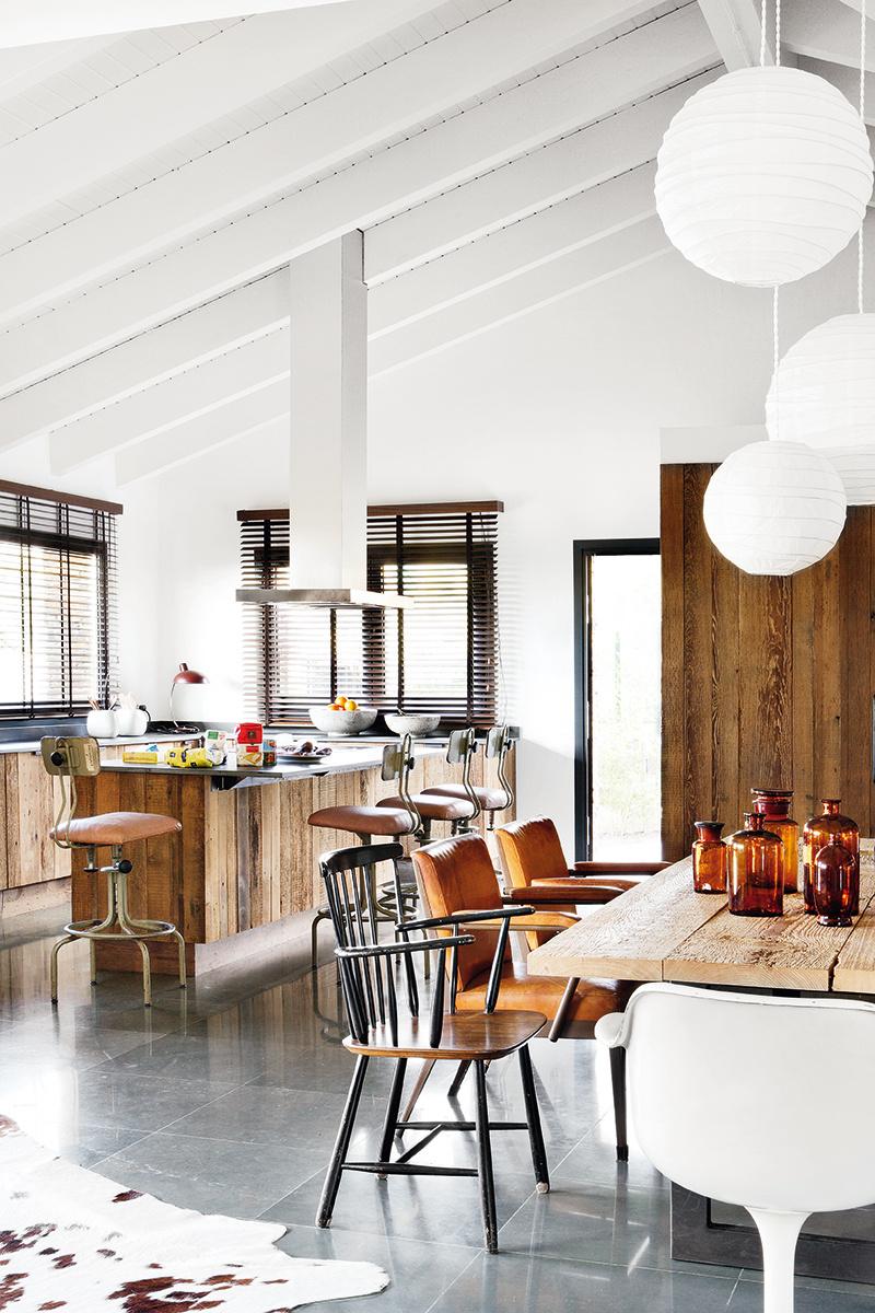 Un ecl ctico loft en a coru a blog decoraci n y diy for Cocina unida a salon