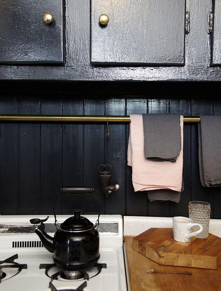 Cocinas negras que te van a enamorar blog decoraci n y - Cocinas negras ...