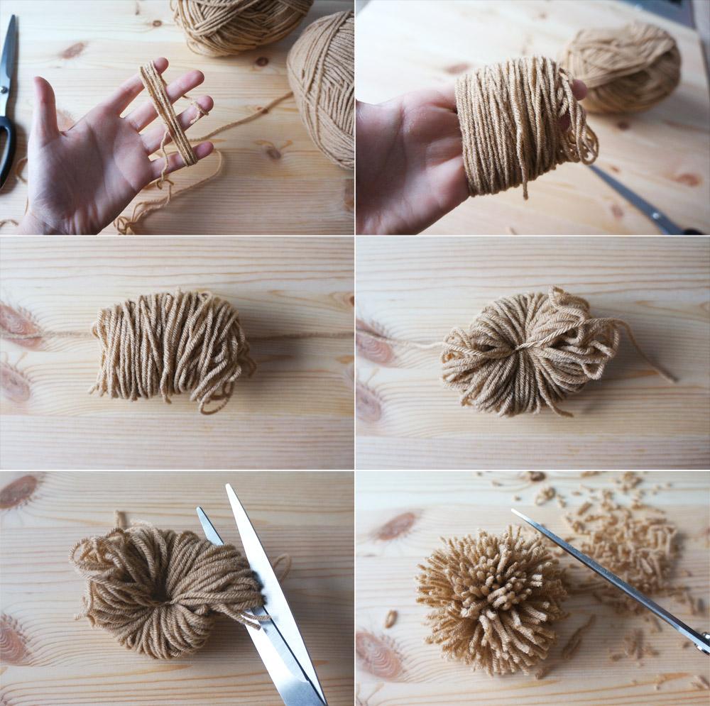 Rollo Ikea cómo hacer pompones y borlas de forma fácil decoración y diy ideas para decorar tu casa