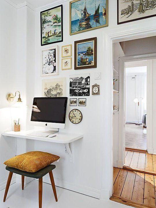 Inspiraci n oficina en casa decoraci n online para tu for Cuadros para decorar mi oficina