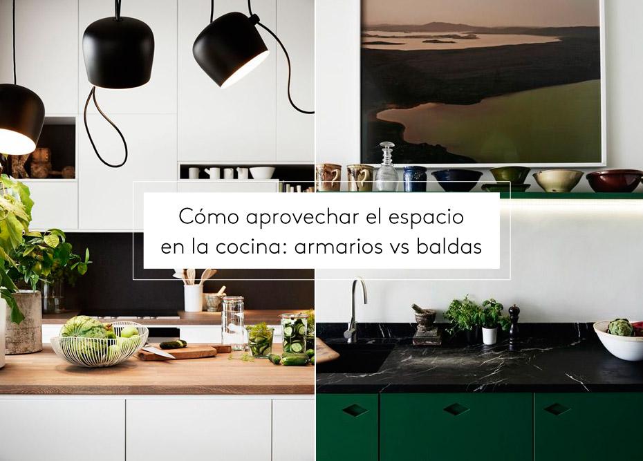 C mo aprovechar el espacio en la cocina armarios vs for Espacio casa online