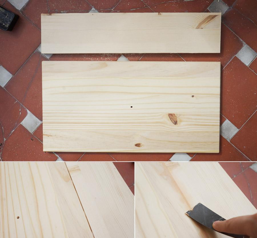 Ikea hack mesilla de noche r stica blog decoraci n y for Bricolaje en madera gratis