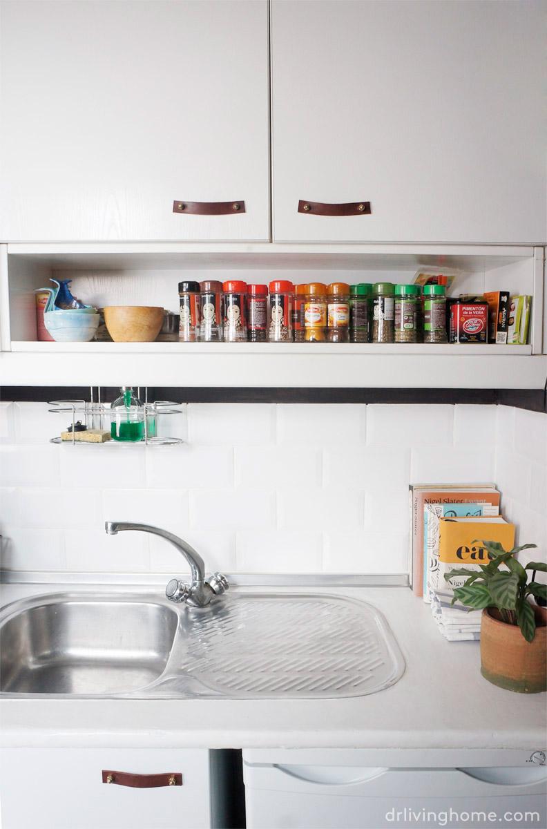 C mo ordenar una cocina peque a para aprovechar el espacio blog decoraci n y diy ideas para - Aprovechar cocina pequena ...