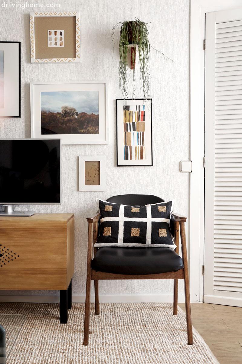 Cómo decorar un salón pequeño. Antes y después de mi salón
