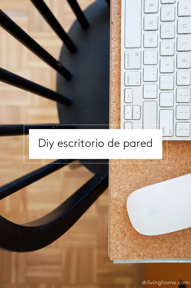 Diy escritorio de pared decoraci n online para tu casa - Escritorio de pared ...