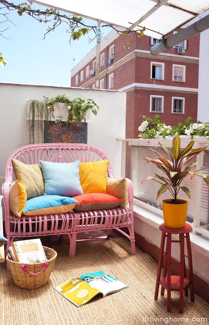 Antes y despu s la decoraci n de mi terraza blog - Ideas para decorar una terraza ...