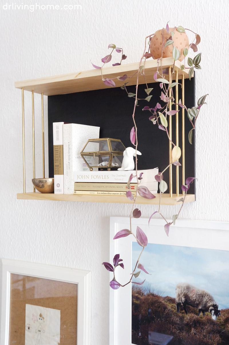 Diy estanter a decorativa y nuevo taller decoraci n for Decorar online
