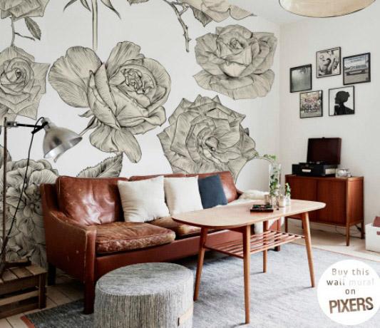 Ideas para decorar la pared con Pixers