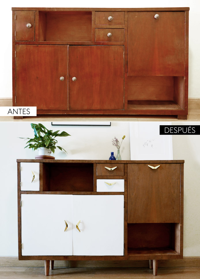 Restaurar muebles antes y despues stunning ideas para for Restaurar muebles viejos antes y despues