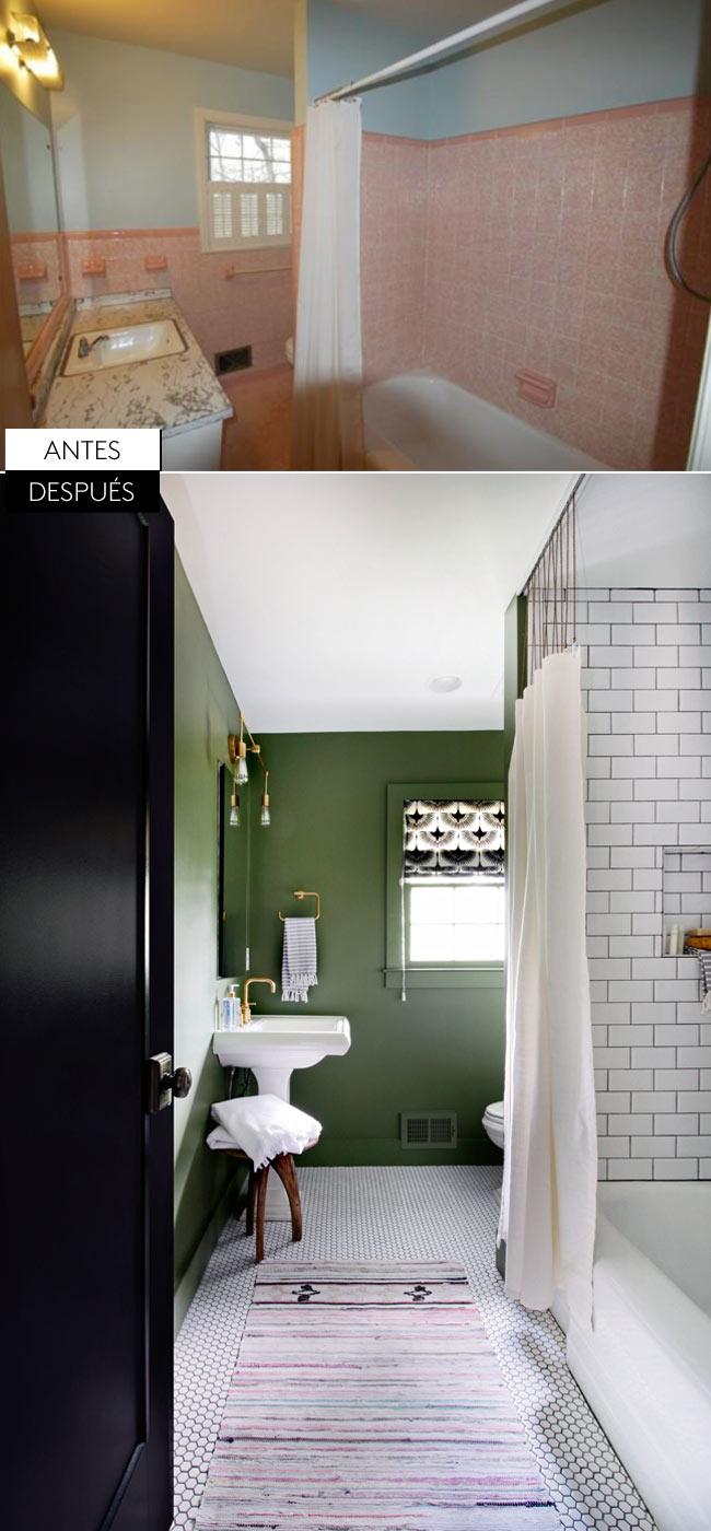 Impresionante antes y despu s de la decoraci n de esta casa blog decoraci n y diy ideas para - Decoracion de casas antes y despues ...