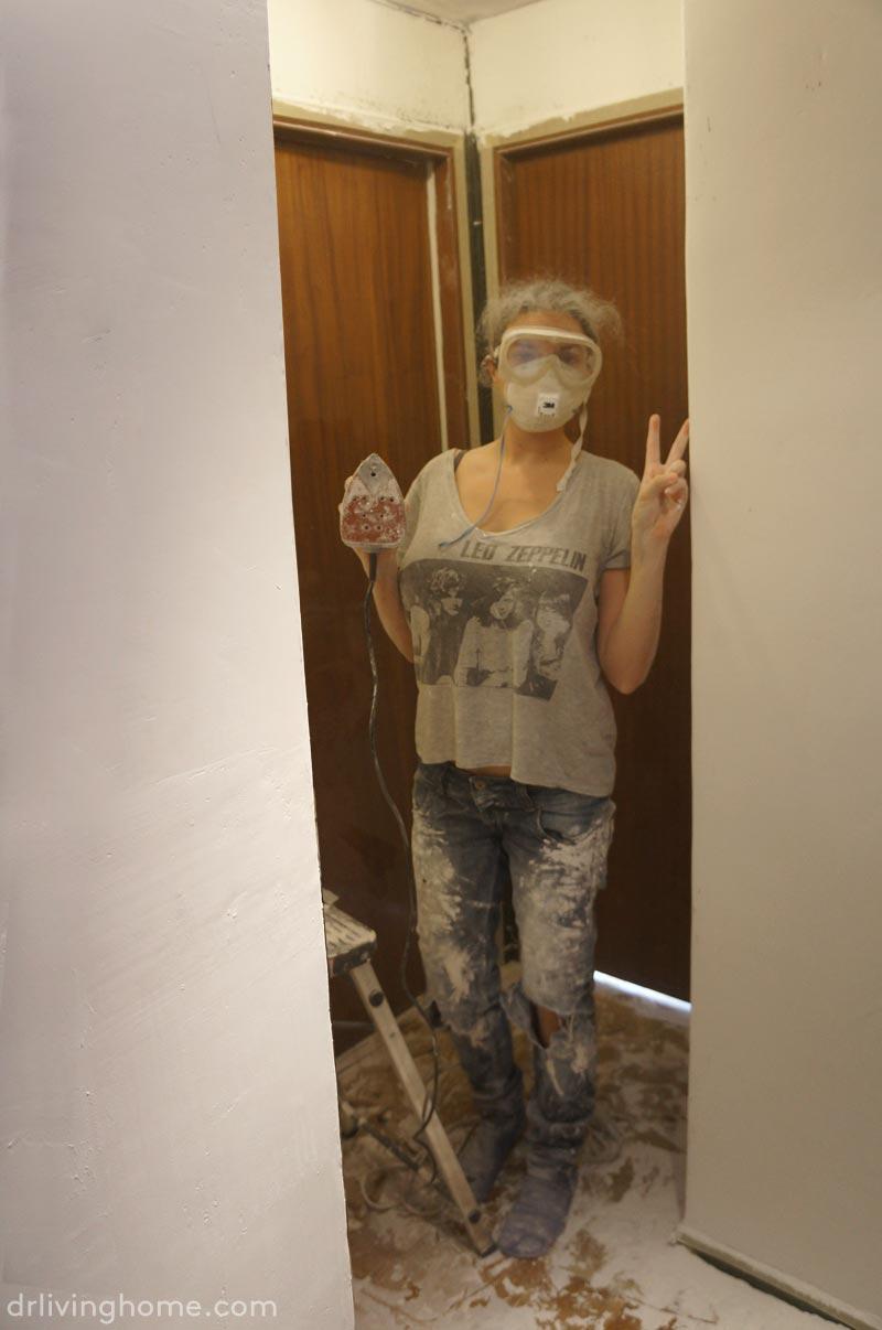 C mo cubrir gotel de forma f cil blog decoraci n y diy - Pegamento de escayola para alisar paredes ...