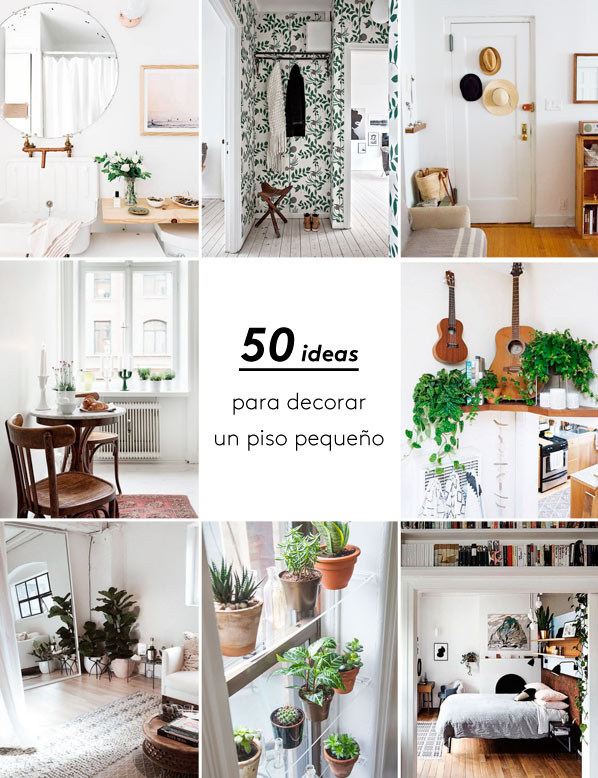 Megapost 50 ideas geniales para decorar un piso peque o blog decoraci n y diy ideas para - Decoracion de un piso ...
