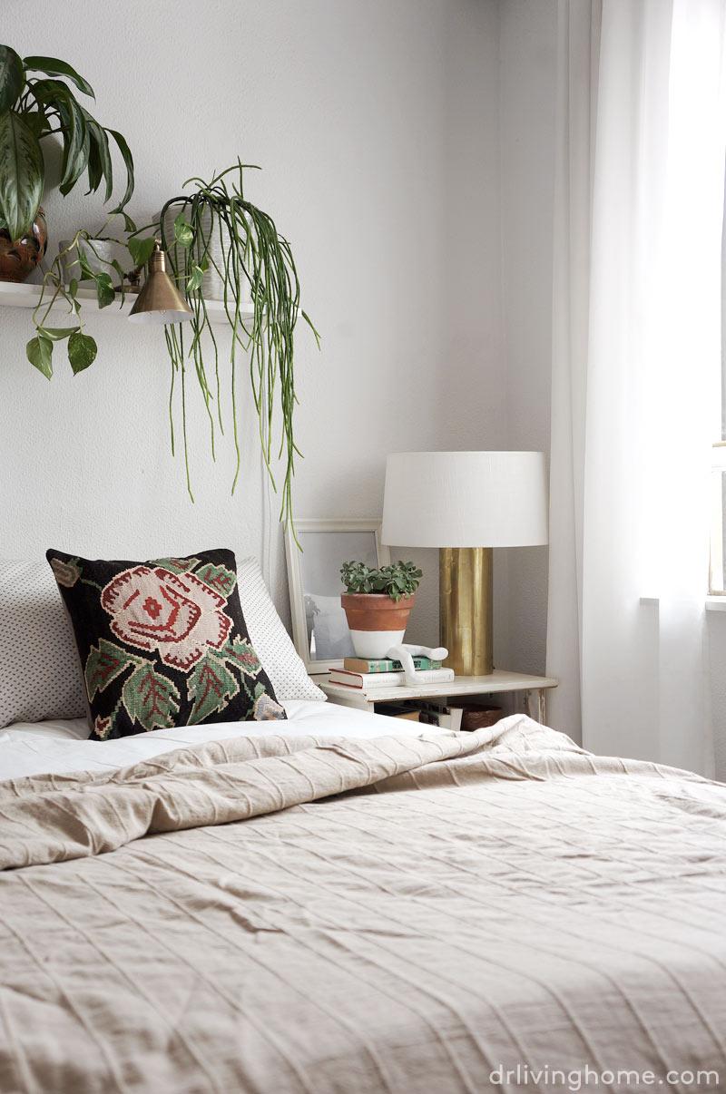 La decoración de mi dormitorio en primavera-verano