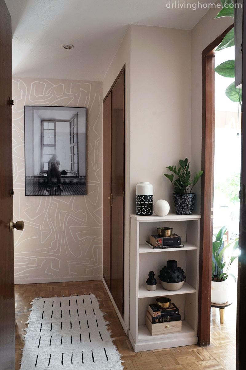 La decoración de mi pasillo
