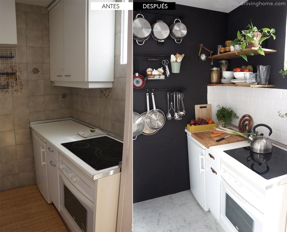 Antes y después de mi cocina