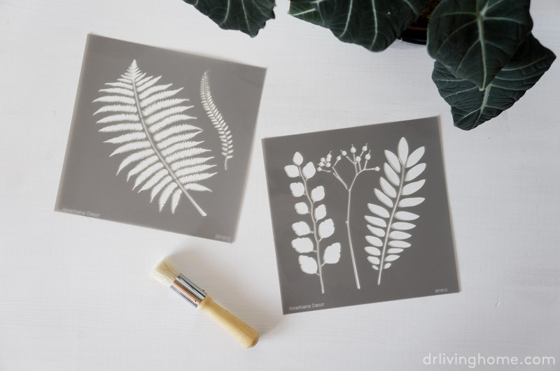 Antes y despu s de una c moda decorada con stencil blog - Cajoneras decoradas ...