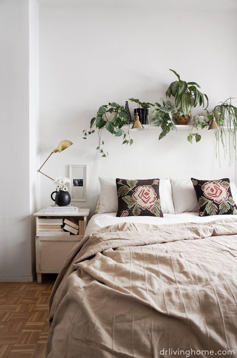 Decoración sostenible dormitorio