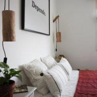 Antes y después de la casa de la playa – El segundo dormitorio