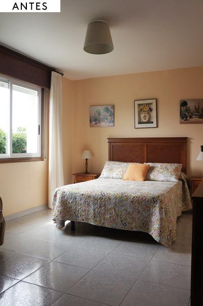 Dormitorio casa de vacaciones