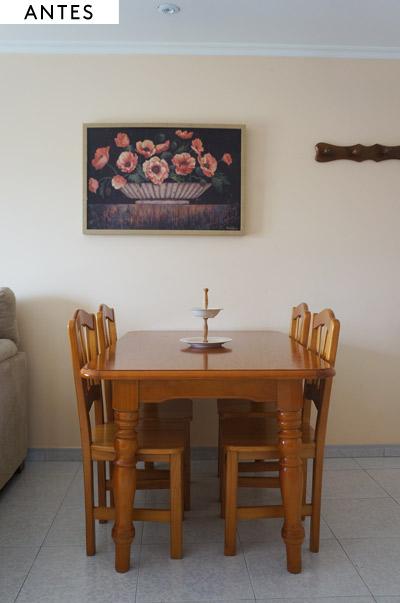 Salón casa de vacaciones
