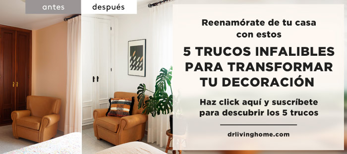 5 trucos para transformar tu decoración