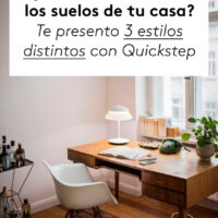 3 estilos de suelo vinílico con Quickstep